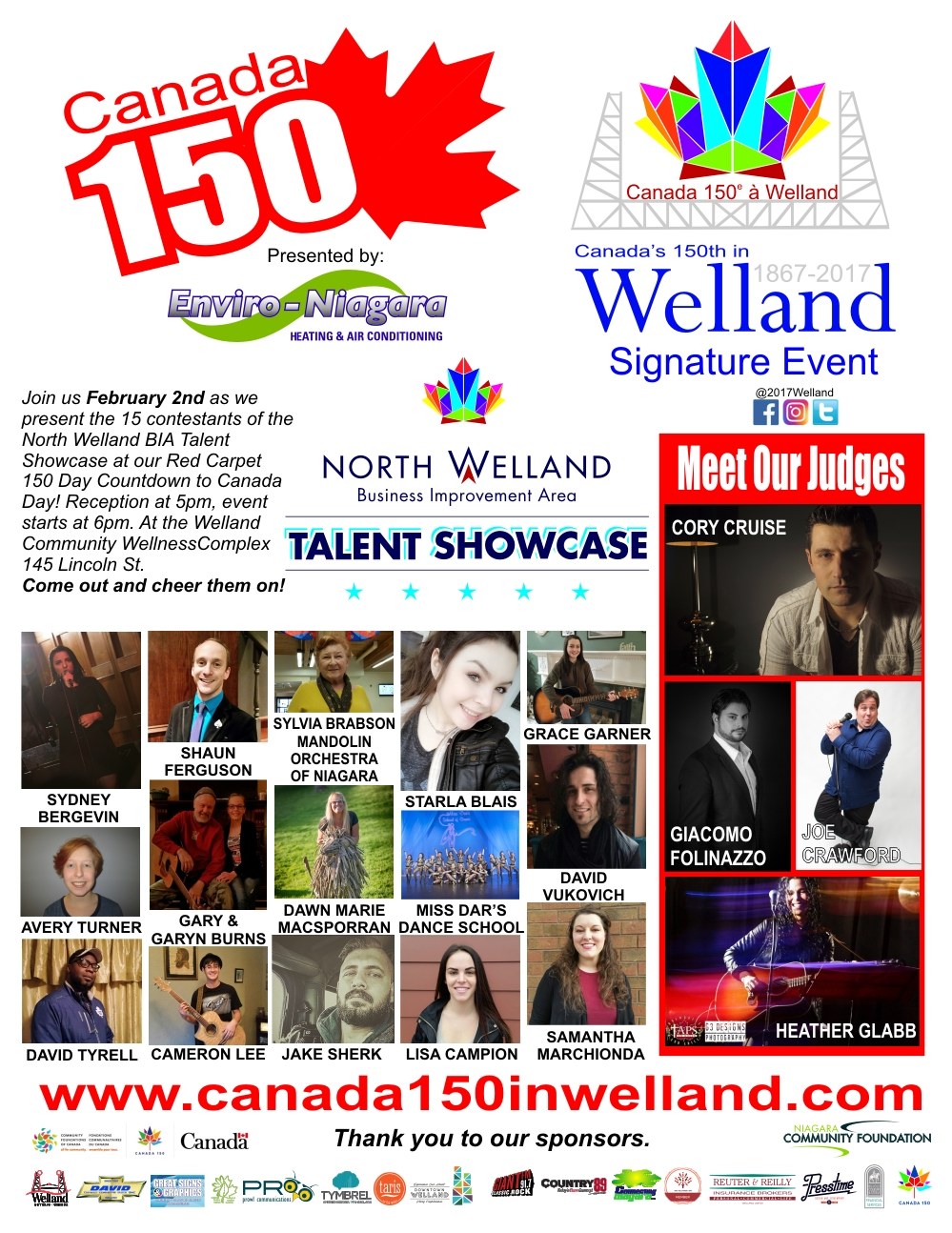 North Welland BIA Talent Showcase