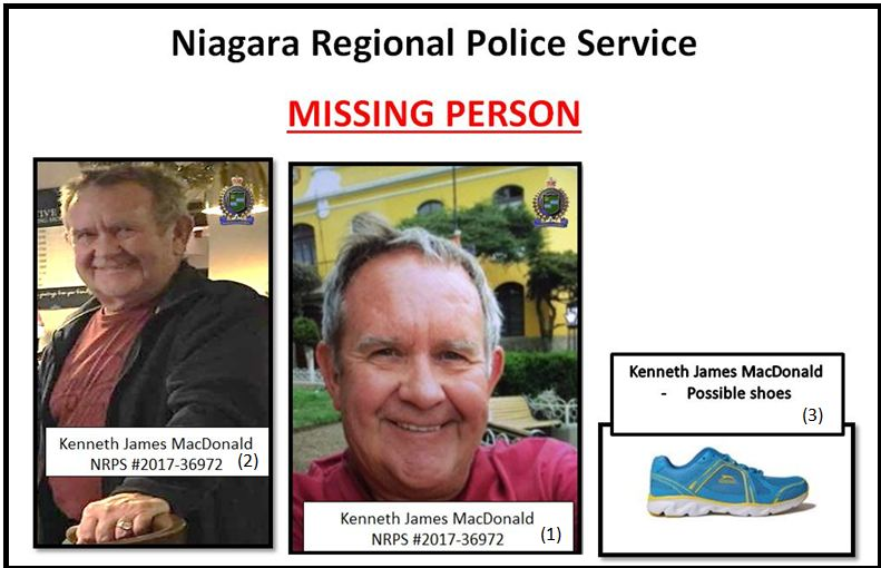 Kenneth MacDonald - missing