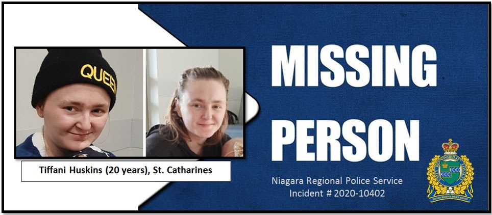 missing woman st catharines