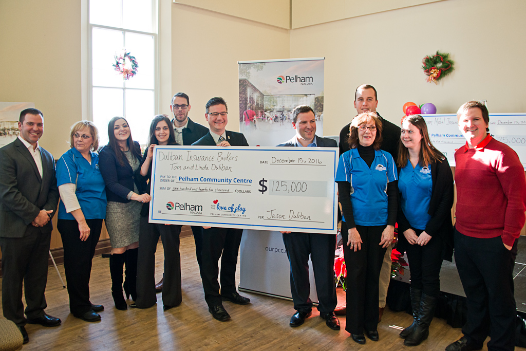 Duliban insurance pelham donation
