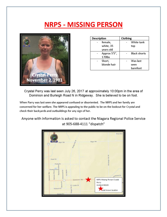 PERRY-MISSING PERSON POSTER