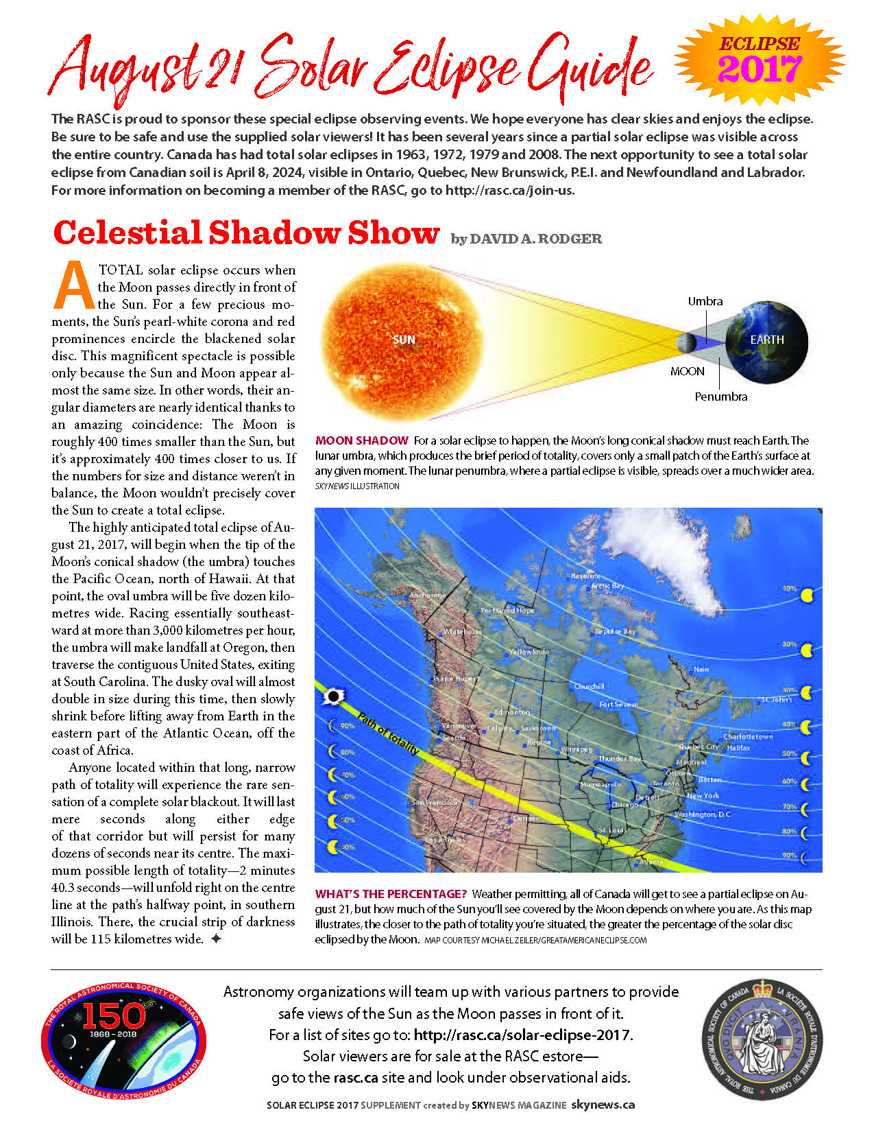 RASC Solar Eclipse guide page 1