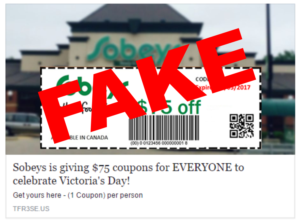 FAKE SOBEY'S AD