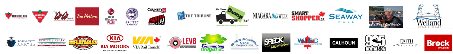 Welland Floatfest Sponsors