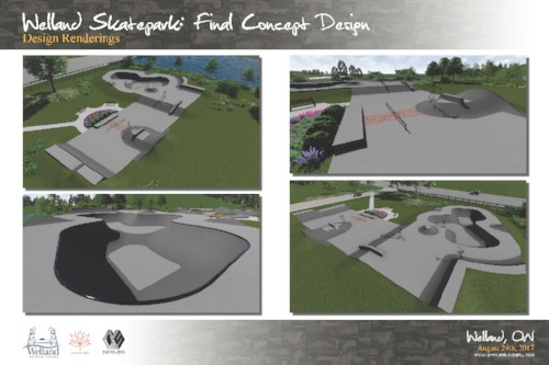 skatepark welland drawing 2
