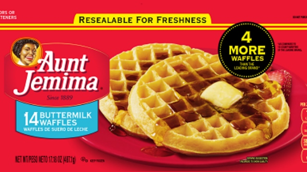 aunt jemima frozen waffles & french toast recall
