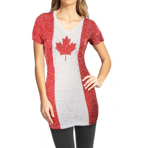 canada flag burn out cover up