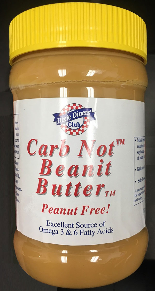 Carb Not Beanit Butter
