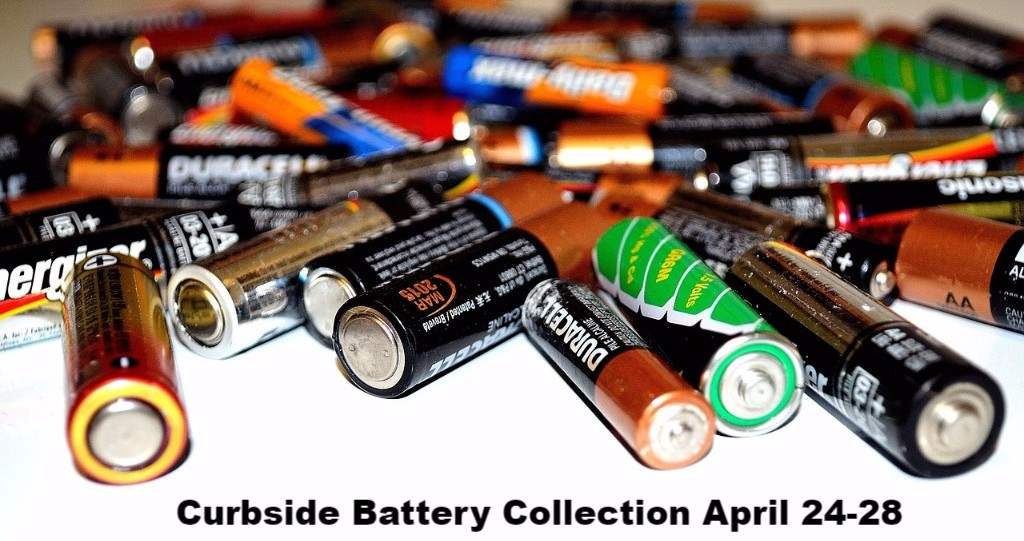 Niagara Region curbside battery pickup