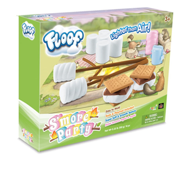 floof toy product smores