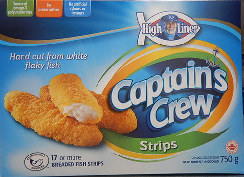 High Liner Captain's Crew Strips & Nuggets
