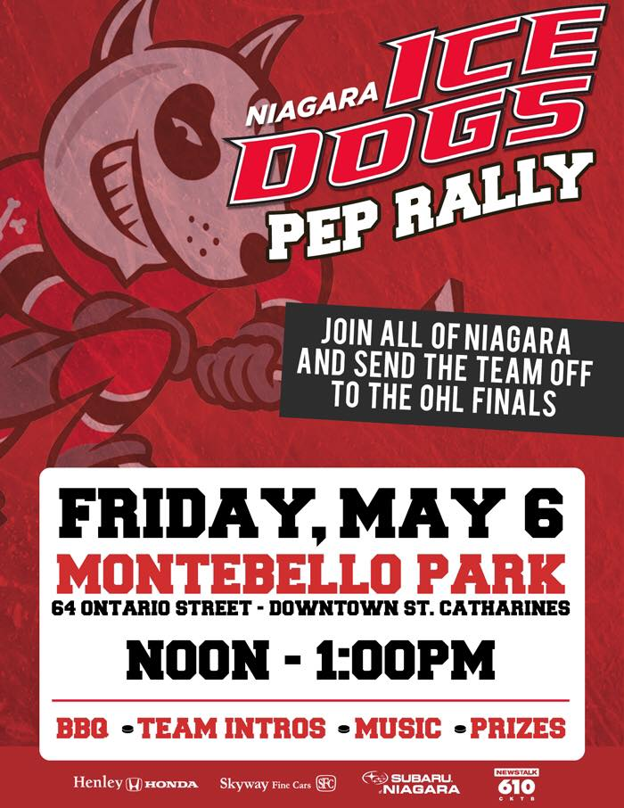 ohl ice dogs pep rally