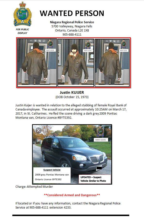 images of justin kuijer and the missing van