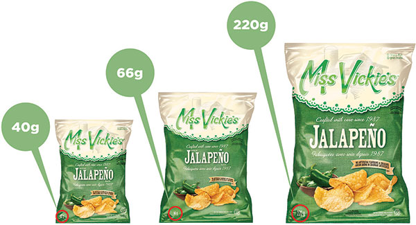 Miss Vickie's Jalepeno Kettle Chips Recall