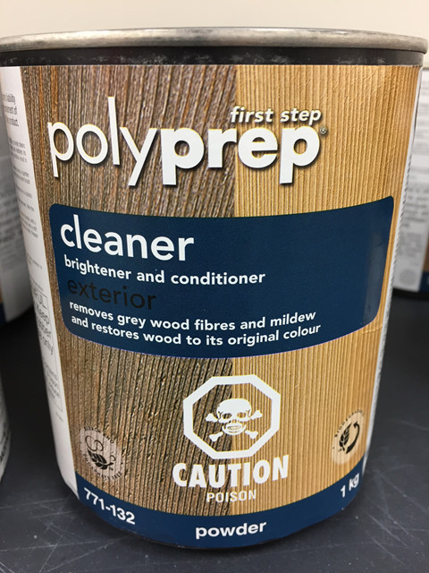 Polyprep Cleaner Powder and SICO Cleaner Powder