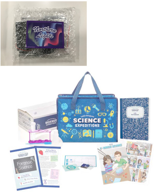 northern lights science kit recall
