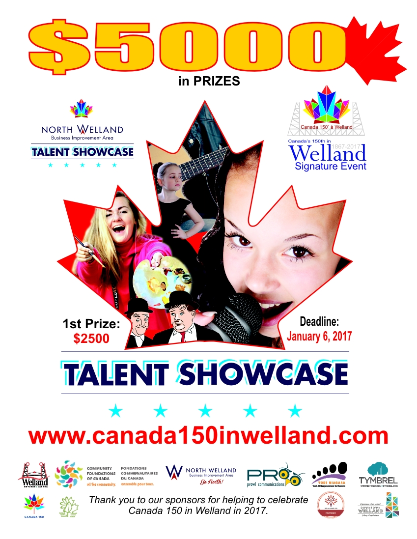 talent showcase poster