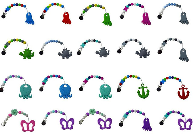 Sili Pearls Gumball Teether & Soother images