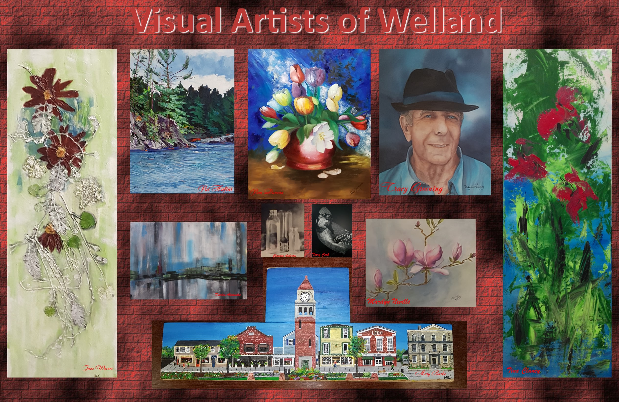 visual artists of welland collage